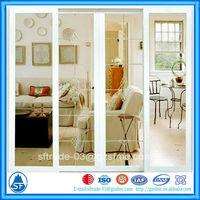interior decoration wooden glass aluminium sliding doors for sale