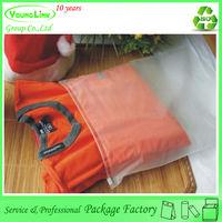 High quality plastic vacuum zip lock bag clothes