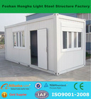 Container modular house with two bedrooms and bathroom
