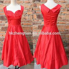China supplier 2014 new design 1950's rockabilly fashion dress celebrity party evening dress