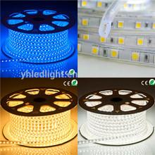 smd5050 led rope light multicolor ce &rohs shenzhen supplier super bright color stage light