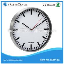 (M2412C) Hot sale 12 inch aluminium wall clock export thing