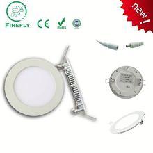 9W round led panel light, 5 inch 9W led round panel lighting, mini round solar panel