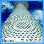 AEOMESH Black Perforated Sheet Metal / Corrugated Sheet Perforated / Perforated Sheet SS 316