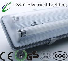PC base & PC diffuser outdoor fluorescent lamp fixture