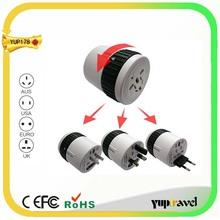 Newest USB World Travel AC Adapter For Power Plug UK US AU EUROPE international Adapter Charger