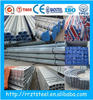 galvanized pipe low roughness /thin wall pre galvanized steel pipe price