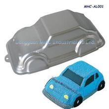 3D bakery mold car shape cake pan, Aluminum Cake Mold