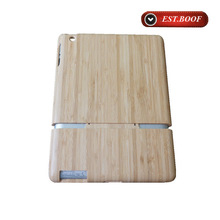 New natural hard bamboo case for ipad2/3/4,eco-friendly tablet pc case