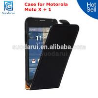 For Moto X+1 Case Ultra Slim Leather Flip Cover for Motorola Moto X+1