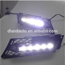 DLAND 2009-2011 BAYERISCHE MOTOREN WERKE LINE 3, E90 SPECIAL LED DAYTIME RUNNING LIGHT, 318 330 320i 325i