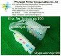 色新しい6pp100プリンターcisscissインクシステムエプソン用