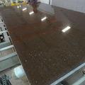 Brown sparkle quartzo/starlight engineered pedra de quartzo lajes
