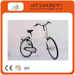 Lady electric bike with 24V/5Ah li-ion battery for Japan market