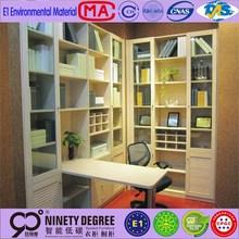 Customized design fiberglass bookcase for home