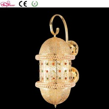 Wholesale Classic Restaurant Bedroom Wall Lamp Light with Gold and Antique Brass Optional