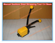 A333 Manual Sealless Steel Strapping Machine for paper ,carton,cloth