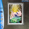 кристалла акриловые крытый декоративный сексуальная девушка 3d рамка