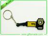 mini hockey puck design keyring