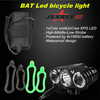 JEXREE Multi-Function 1xCREE XM-L2+2xXP-G LED Bicycle Lights power beam rechargeable led bicycle lights