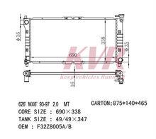 Aluminum Radiator For MAZDA 626 / CAPELLA / PROBE 93-97 MT OEM: F32Z8005A/B CORE SIZE: 690*338*26