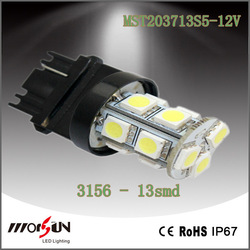 T20 led lamp 3156 3157 13smd led auto car led bulb