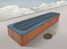 Monalisa Above ground Rectangular Portable Fiberglass Plastic China Supplies Swimming Pool M-3326