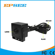 Low cost 720P ip surveillance POE pinhole camera