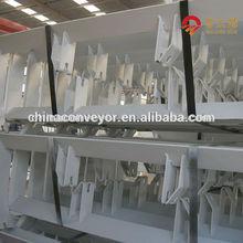 CEMA DIN standard 15deg return conveyor idler frame width 1200mm weight 31KG without conveyor rollers