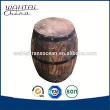 Decorate Wood Barrel Furniture