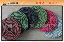 angle grinder polishing pads/concrete polishing resin pad