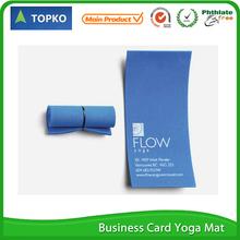 Wholesale EVA min yoga business card mat