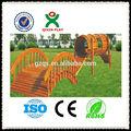 In legno massello parco giochi per bambini giochi/parco giochi attrezzature per i bambini/al di fuori di perforazione gioco/qx-11059a
