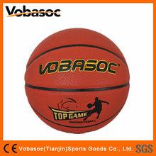 Good Quality Size 7 Cheap PU Laminated Basketball Ball / PU Leather Basketball