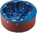 Outdoor massage-whirlpool acryl freistehende runde mini pool spa