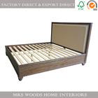 antique solid wood bedroom sleigh bed frame