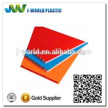 2014 new corrugated polypropylene 4mm 4x8 sheet plastic manufacturer