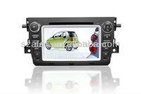 7 inch touch screen dvd gps for Benz smart/Car dvd gps player for Benz Smart Fortwo/car autoradio gps (shenzhen alex suppiler)