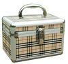 Elegant Aluminum cosmetic case beauty case makeup case vanity case