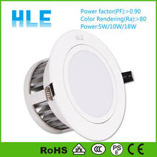 SMD5630 LED Downlight 18W Natural White