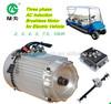 48v dc/ac motor used in golf cars shuttle bus