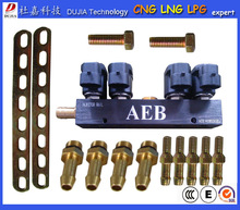 DJ-4CYL injector rails for 4 cyl repair kits for cng/ lpg /lng