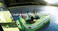 isla flotante inflable casas flotantes para la venta de esquí de agua
