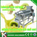 Máquina de fazer suco de laranja automática/duplo parafuso frutas espremendo máquina