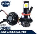 2014 alta qualidade led farol do carro h4 h3 levou farol lâmpadas