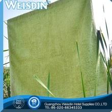 Planície tingida venda quente 100% algodão letras para bordar em toalhas