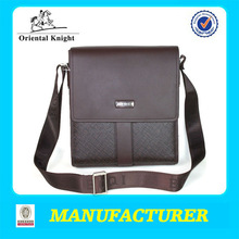 Wholesale factory price chrome messenger bag for men