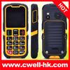 PS-V705 IP67 Waterproof very small big keyboard mobile phone for elderly