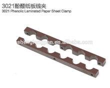 Phenolic laminated sheet for bakelite clamps