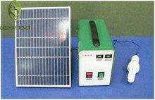 Small power 10W DC output poratble solar power system